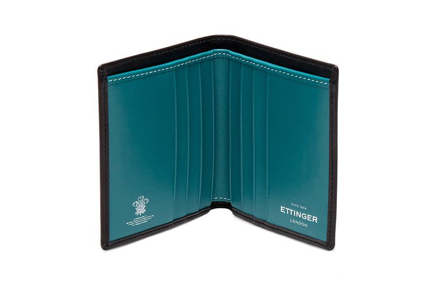 Sterling Turquoise Mini Wallet (Personalisation) - onlybrown