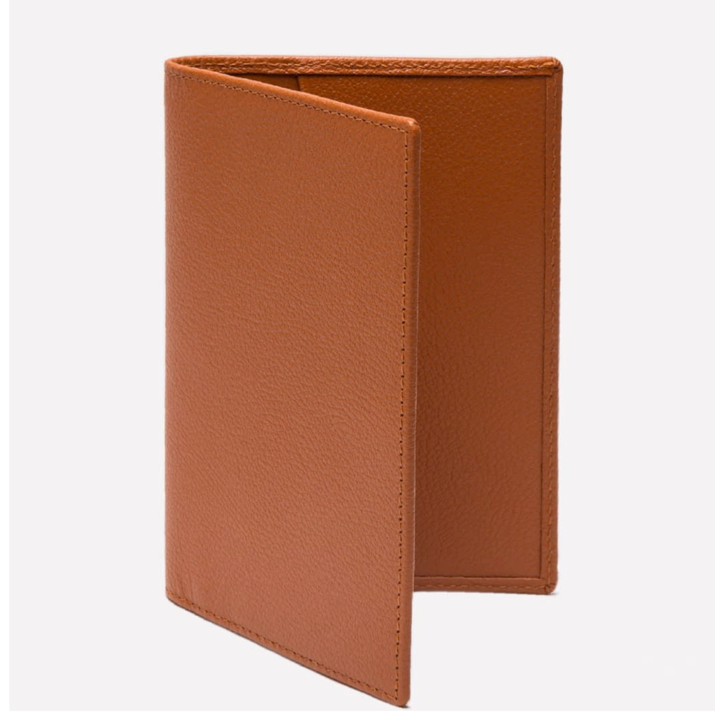 CAPRA Passport Case - onlybrown