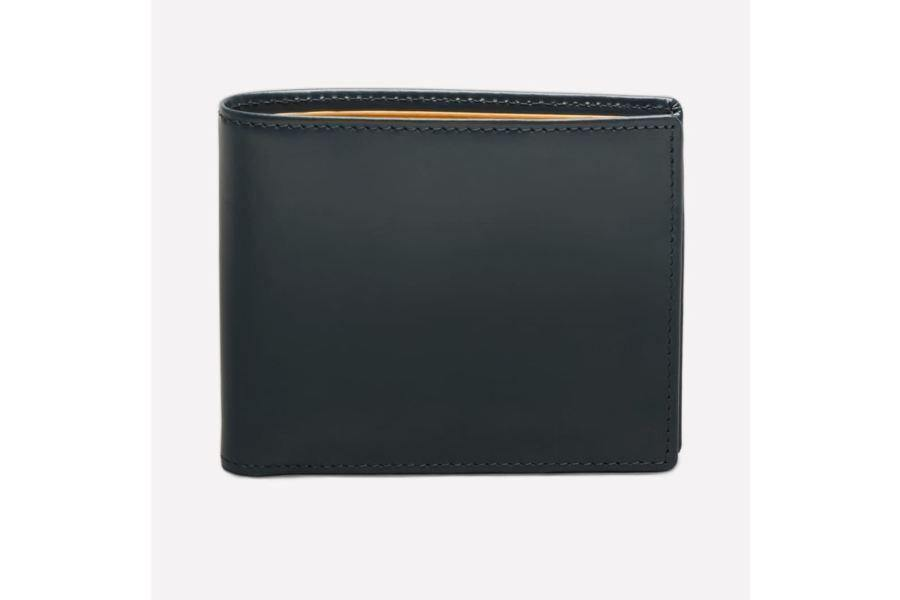 Bridle Hide Billfold With 12C/c - Ettinger Grey (Personalisation) - - Personalisation