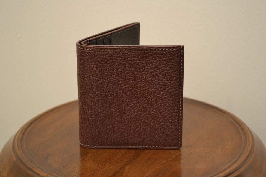 Short Wallet - Bordeaux Chèvre