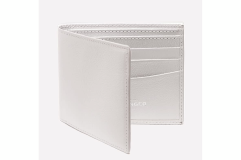 Capra Billfold Wallet - White