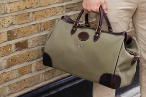 Hurlingham Overnight Bag - Olive (Personalisation)