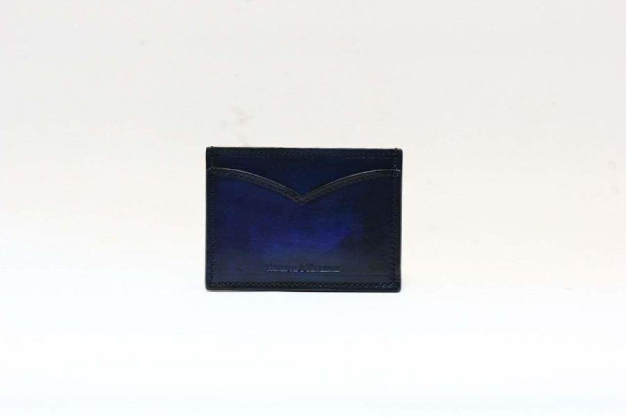 Signature Card Case (Blue) - Blue -