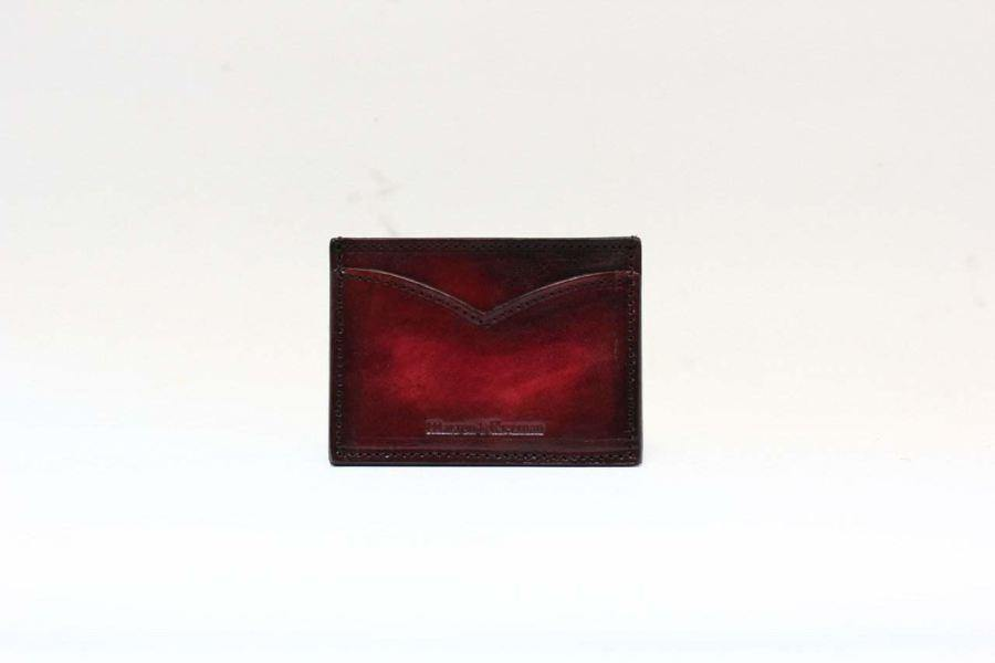 Signature Card Case (Burgundy) - Burgundy -
