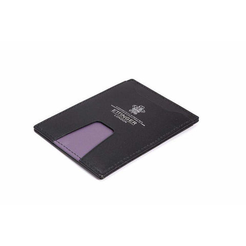 Sterling Pass Holder - Purple - - Card Case