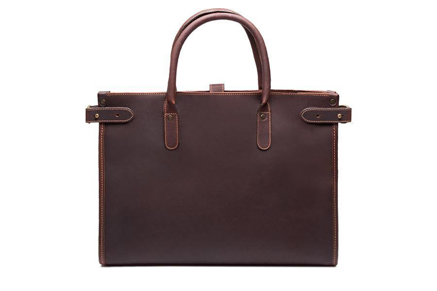 Chelsea Leather Tote - Havana