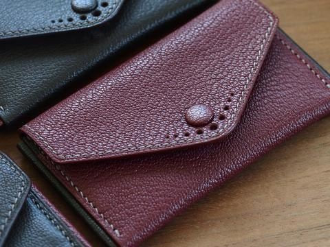 Buttoned Card Cases - Eatsleeply x onlyBrown collaboration