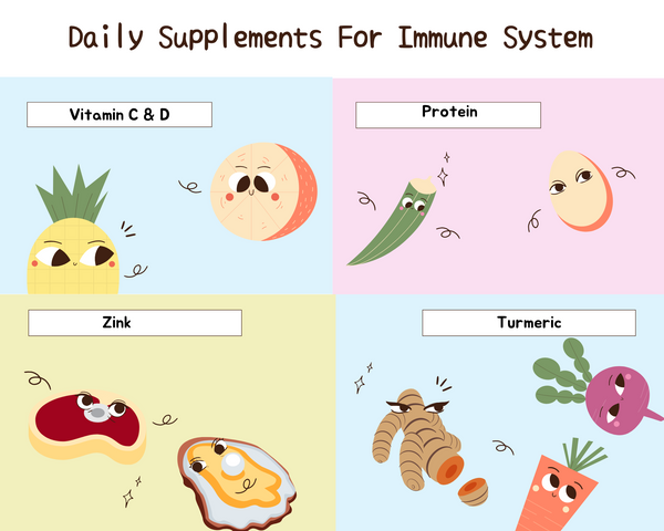 Daily Supplements for Immunity