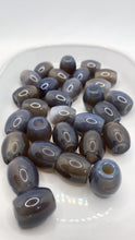 Load image into Gallery viewer, Gray Agate Gemstone Loc Bead