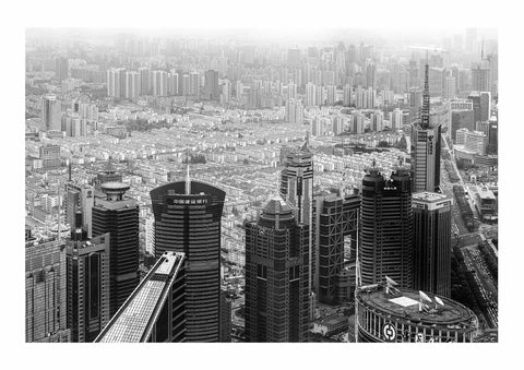 Downtown Shanghai BW