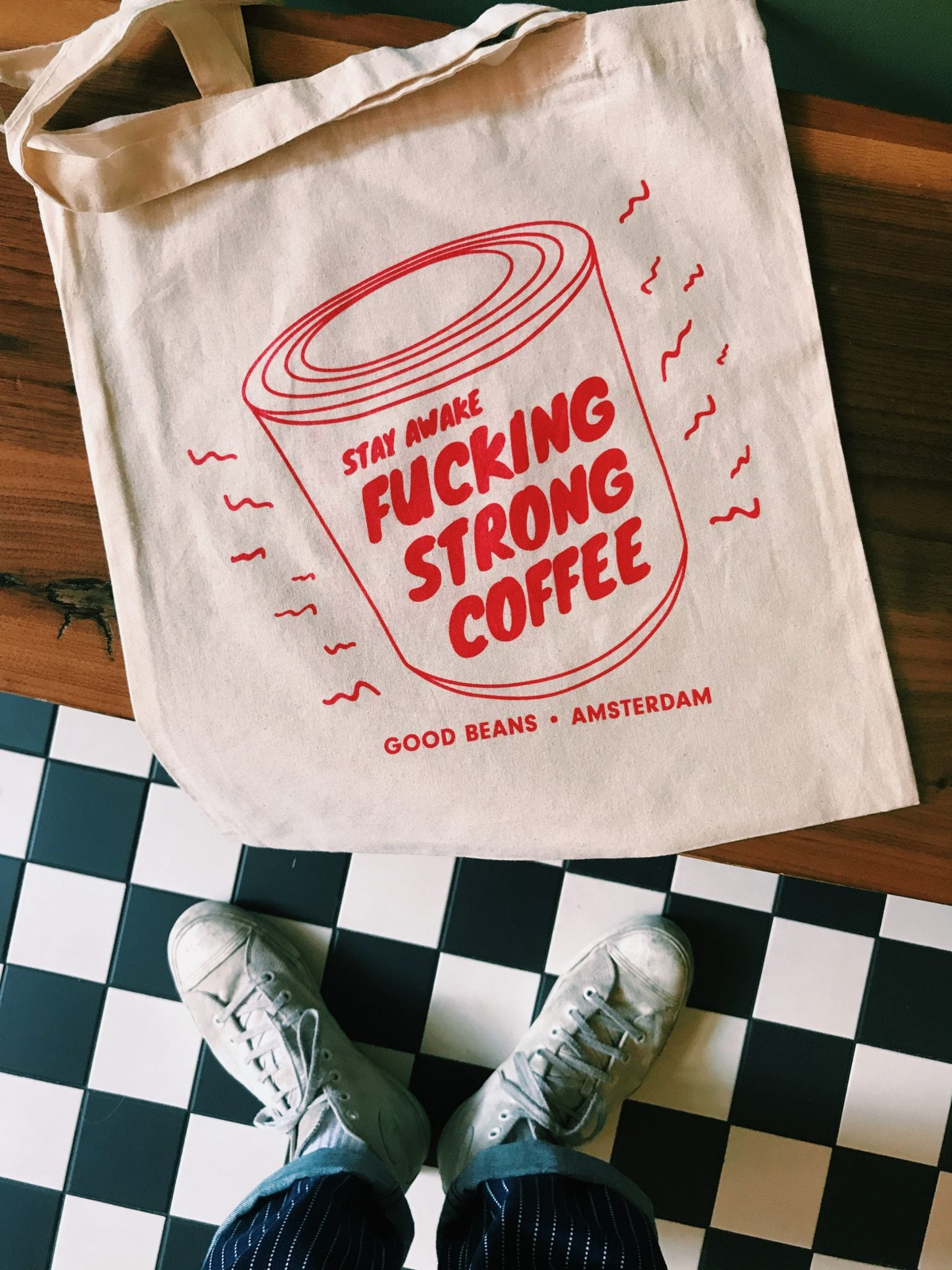 Fucking Strong Tote Bag