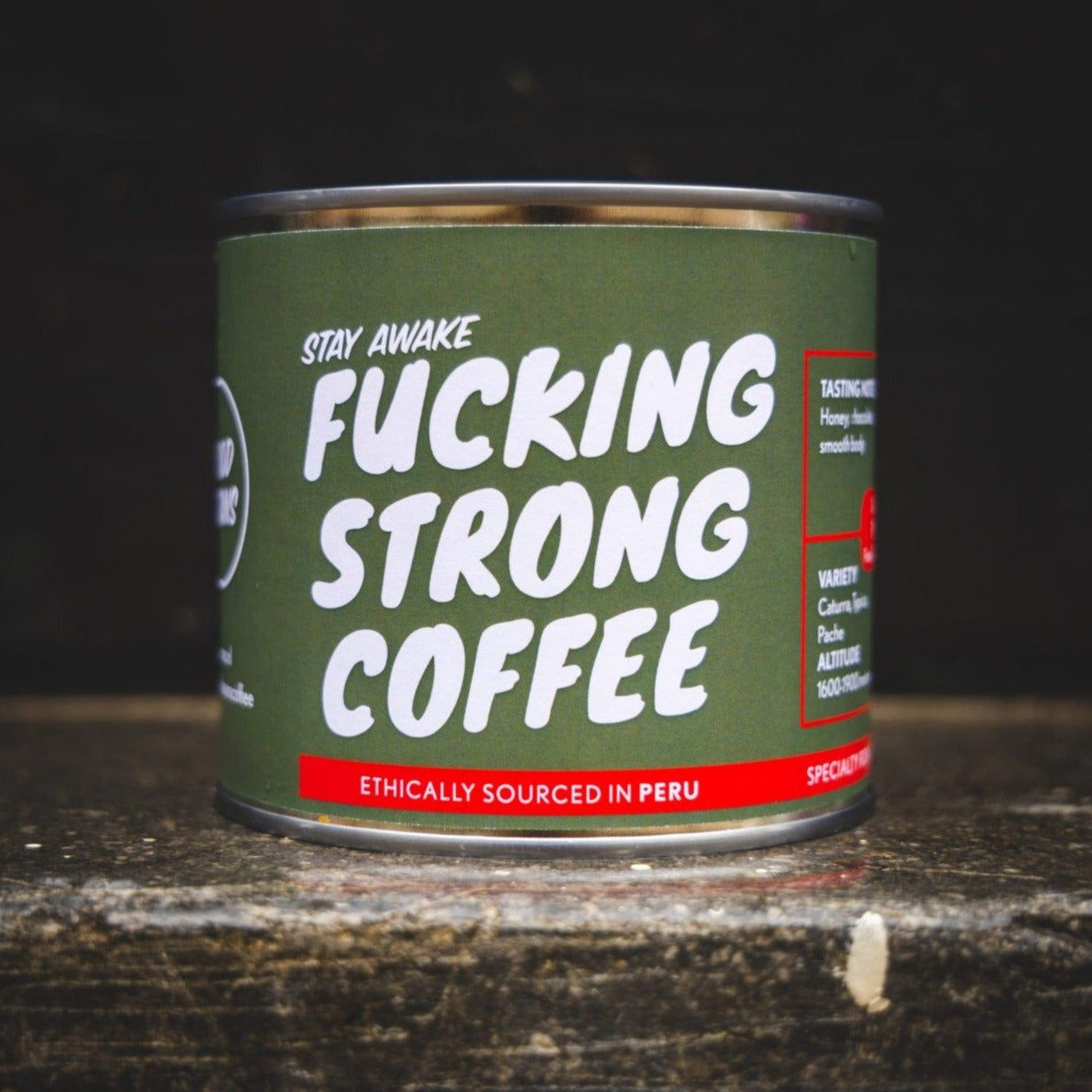 Fucking Strong Coffee from Peru