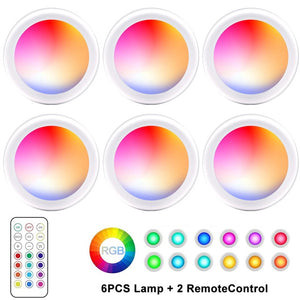 Color-changing remote-controlled LED wireless