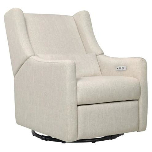 Babyletto Kiwi Power Swivel Glider Recliner - Freddie and Sebbie