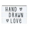 A Little Lovely Company - Lightbox Hand Drawn Letter Set