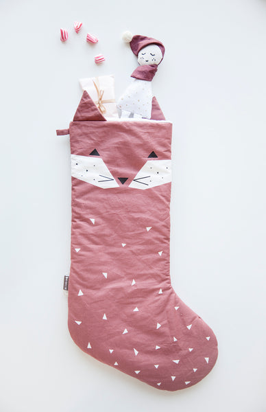 Fabelab . Christmas Stocking . Fox