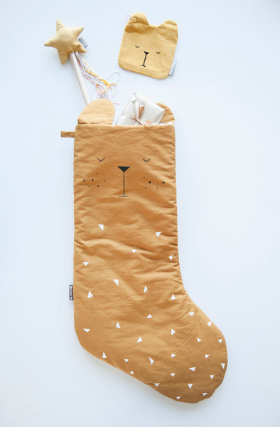 Fabelab . Christmas Stocking . Bear