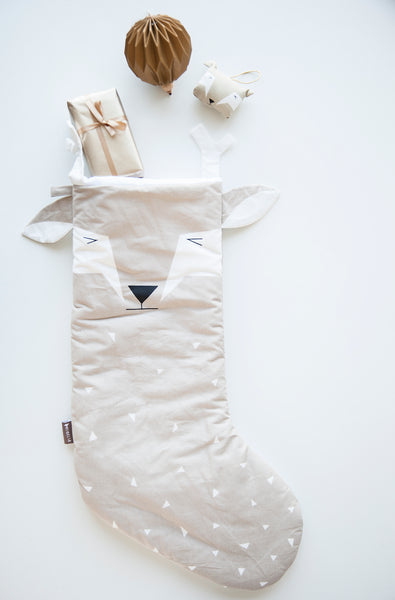 Fabelab . Christmas Stocking . Deer