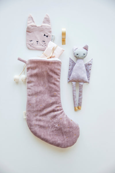 Fabelab . Christmas Stocking . Mauve