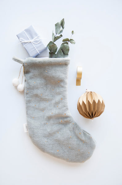 Fabelab . Christmas Stocking . Light Grey