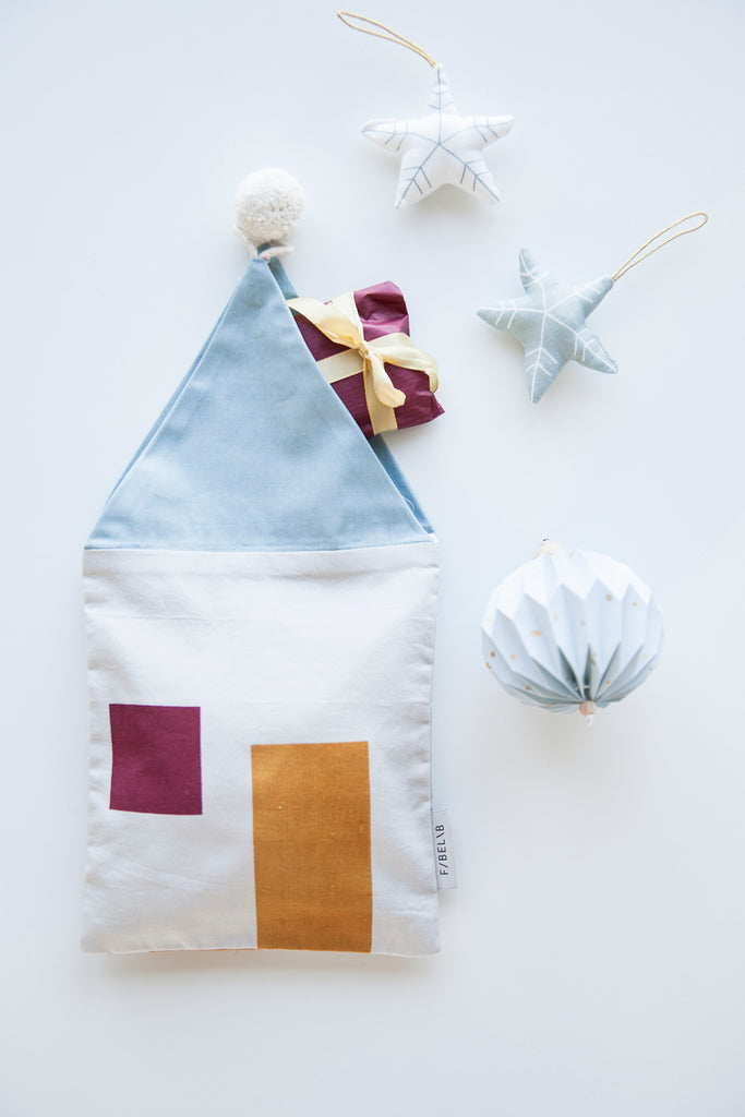 Fabelab . Christmas Gift Bag . House