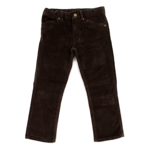 Lily Balou 'Ethan' Cord Trousers - Chocolate