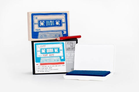 Yellow Owl Workshop - Mix Tape Stamp Set