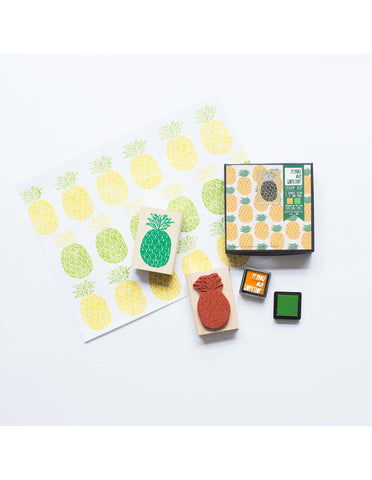 Yellow Owl Workshop - Pineapple Stamp Set