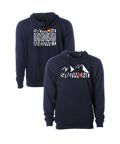 Colorado Creed 2.0 Hoodie - Navy