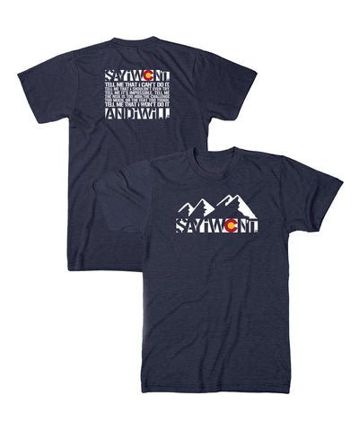 Colorado Creed 2.0 Tee - Heather Navy