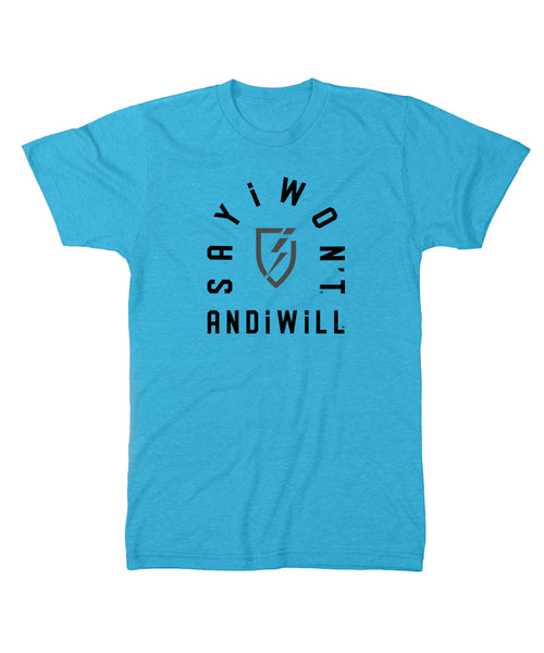Facility Creed Tee - Turquoise