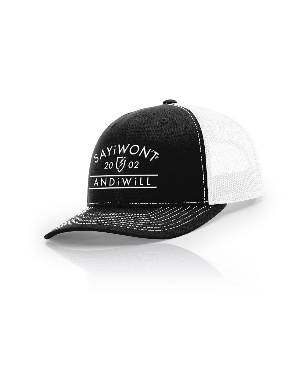 Standard Snapback - Black and White