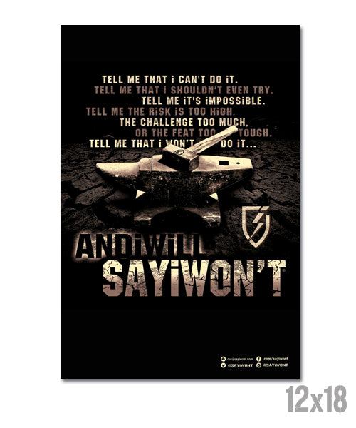 Anvil Creed Poster