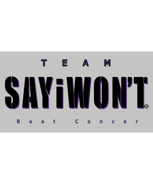 Team Beat Cancer Tee - Athletic Gray