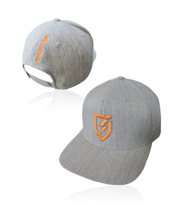 Deuce Blitz.0 Solid Snapback - Heather Gray