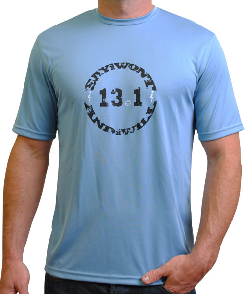Circle 13.1 Performance Tee - Blue