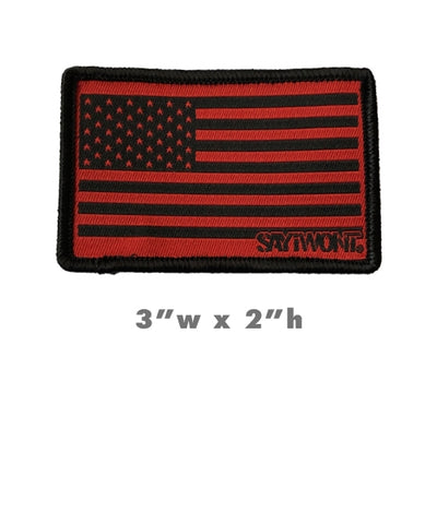 Defender Flag Patch with ADHESIVE Backing