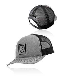 Icon Snapback - Heather n Black