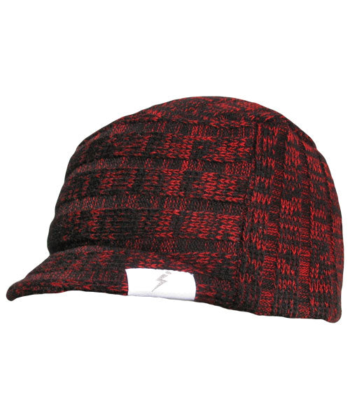Mammoth Jeep Cap Heather Red