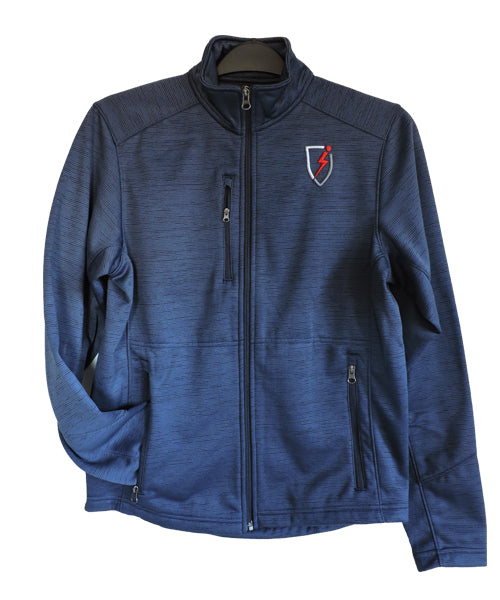 League Fleece Jacket - Navy