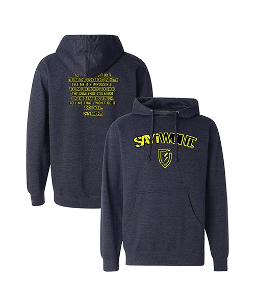 Power Creed.0 Hoodie - Heather Navy
