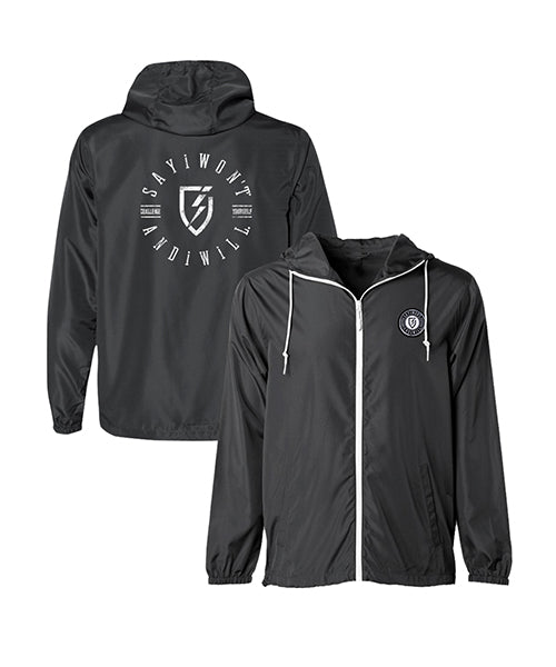 Lunarcate Adult Wind Breaker - Black