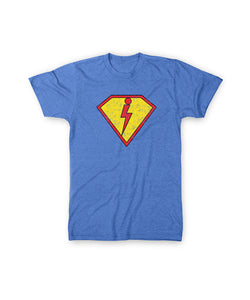 Super Creed Youth Tee - Heather Royal