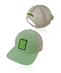 Icon Snapback - Lime and Birch