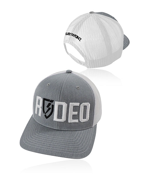 Rodeo Blitz.0 Snapback - Heather Gray n White