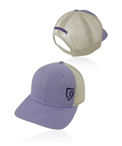 Lil Blitz.0 Snapback - Purple and Birch