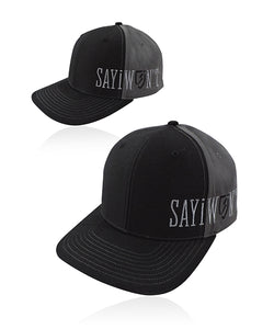 Recon.0 Solid Snapback - Black n Charcoal