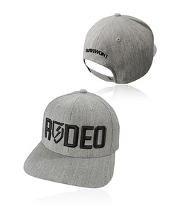 Rodeo Blitz.0 Solid Snapback - Heather Gray