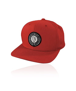 Vindicate Solid Youth Snapback - Red