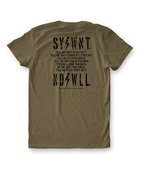Constant Tee -  Military Green